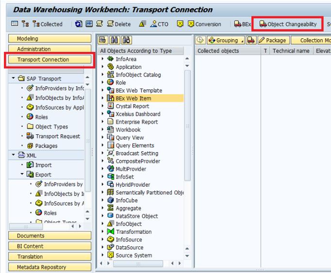 Blog - BEX Değiştirilebilirlik     SCC4 işlem kodundan değiştirilebilirliğe bakma.png
